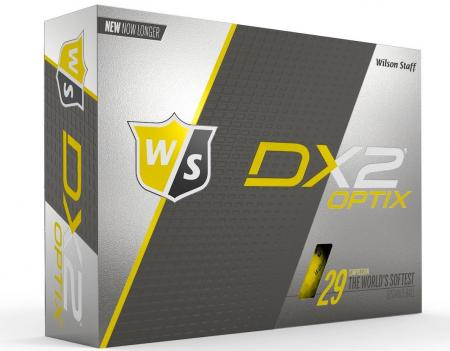 Wilson Staff remodels DX2 and DX3 golf balls
