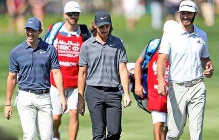 Pieters and Fisher lead as McIlroy surges at Abu Dhabi