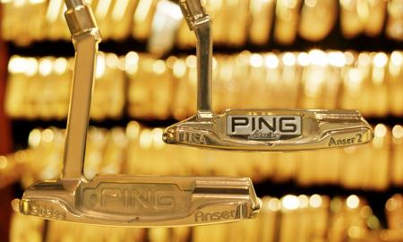 Inside Ping's Golden Putter Vault