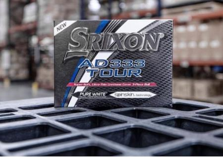 Srixon launch new AD333 TOUR golf ball