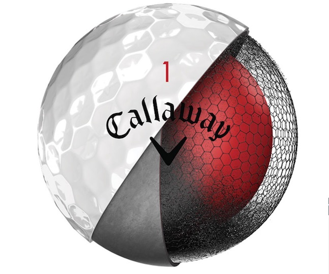 Callaway launch 2018 Chrome Soft golf ball