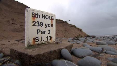 England's oldest golf course at risk to erosion