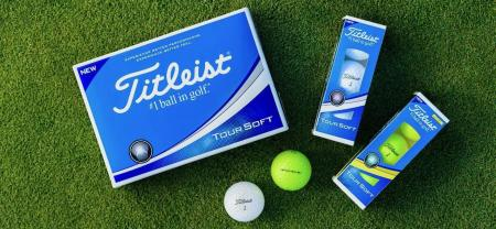 Titleist intro all new Tour Soft golf balls
