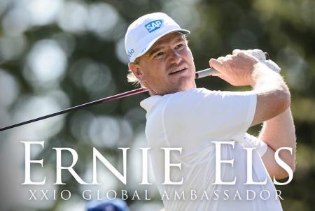 Ernie Els joins XXIO as a club ambassador