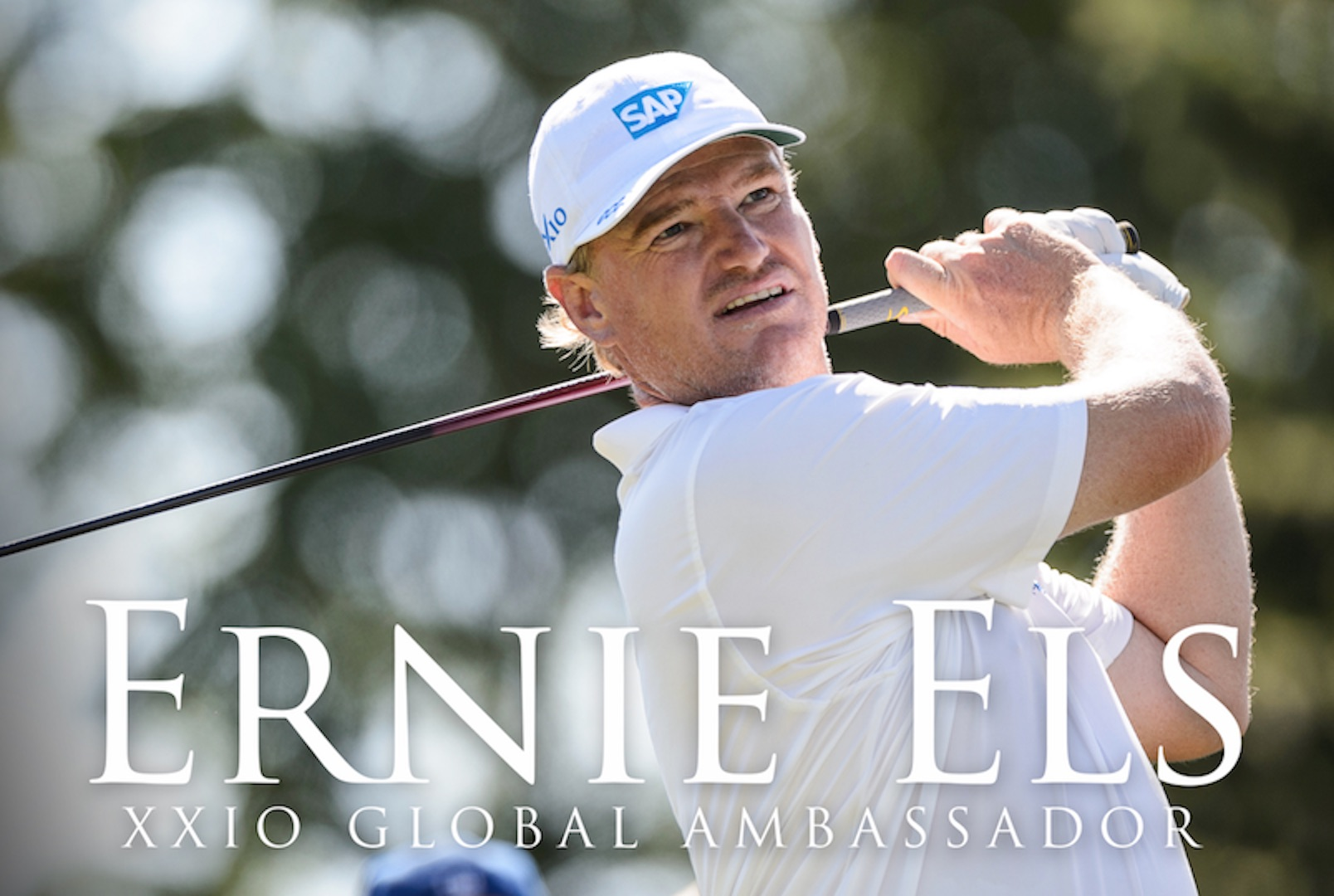 Ernie Els joins XXIO as a club ambassador