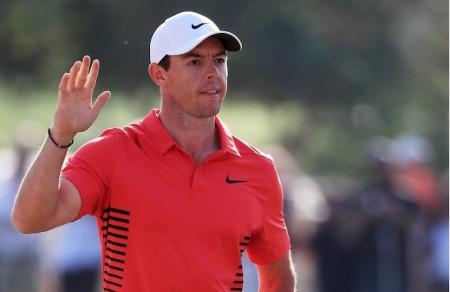 Rory McIlroy one shot off the lead