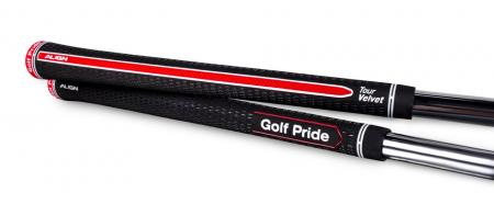 Golf Pride's® Breakthrough Tour Velvet ALIGNTM Technology