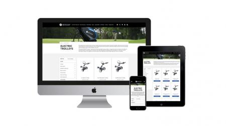 Motocaddy launches new fully responsive website