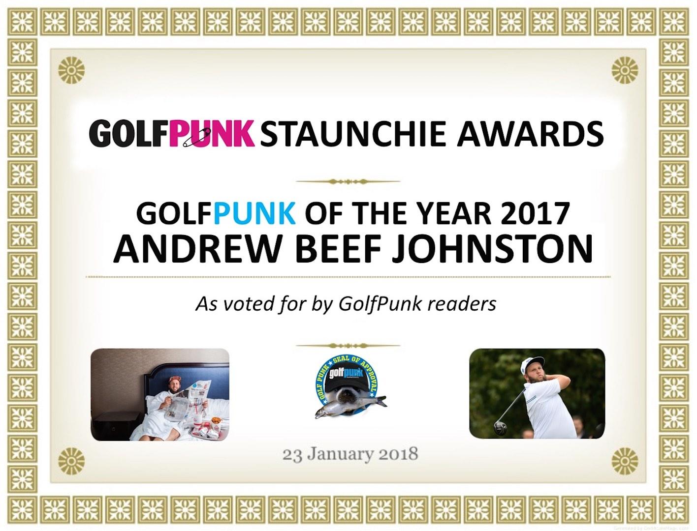 GP Staunchie Reader Awards Part 2