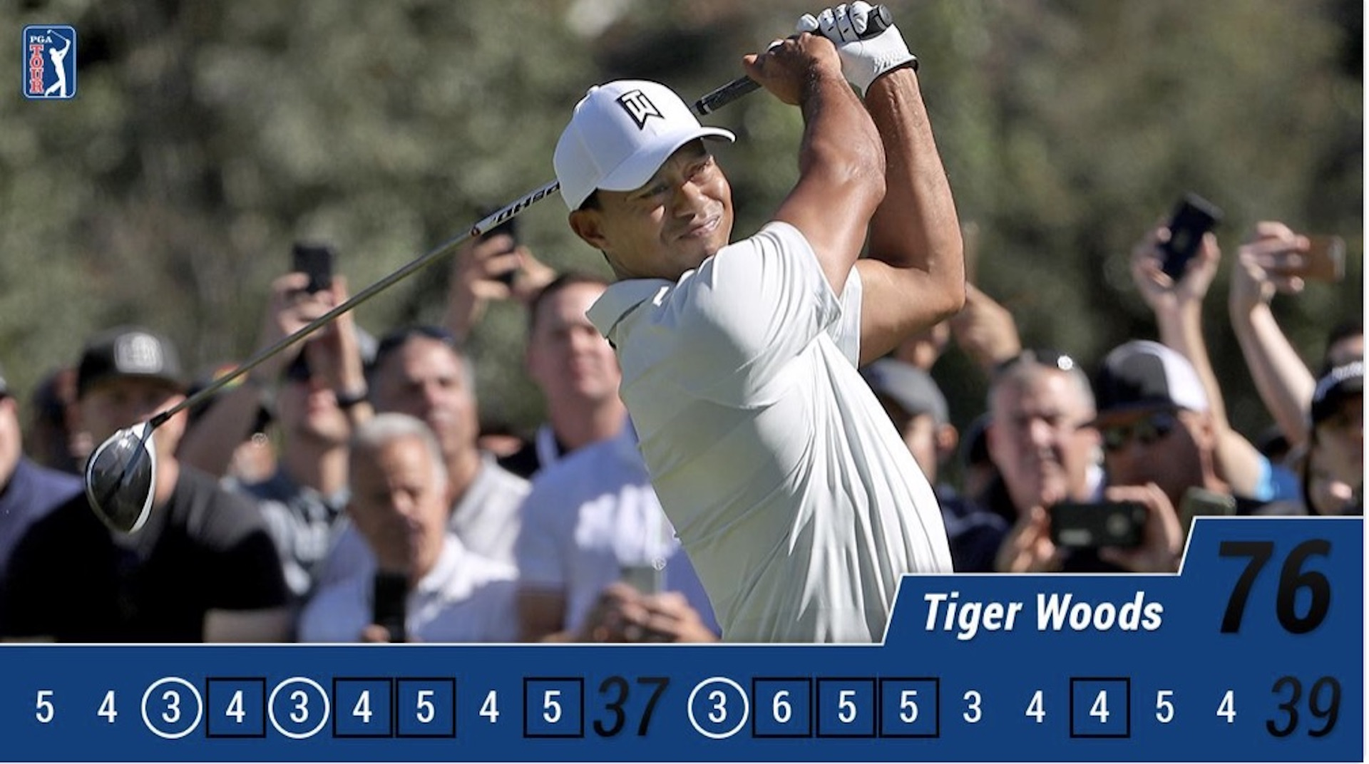 Tiger Woods misses the cut at Riviera