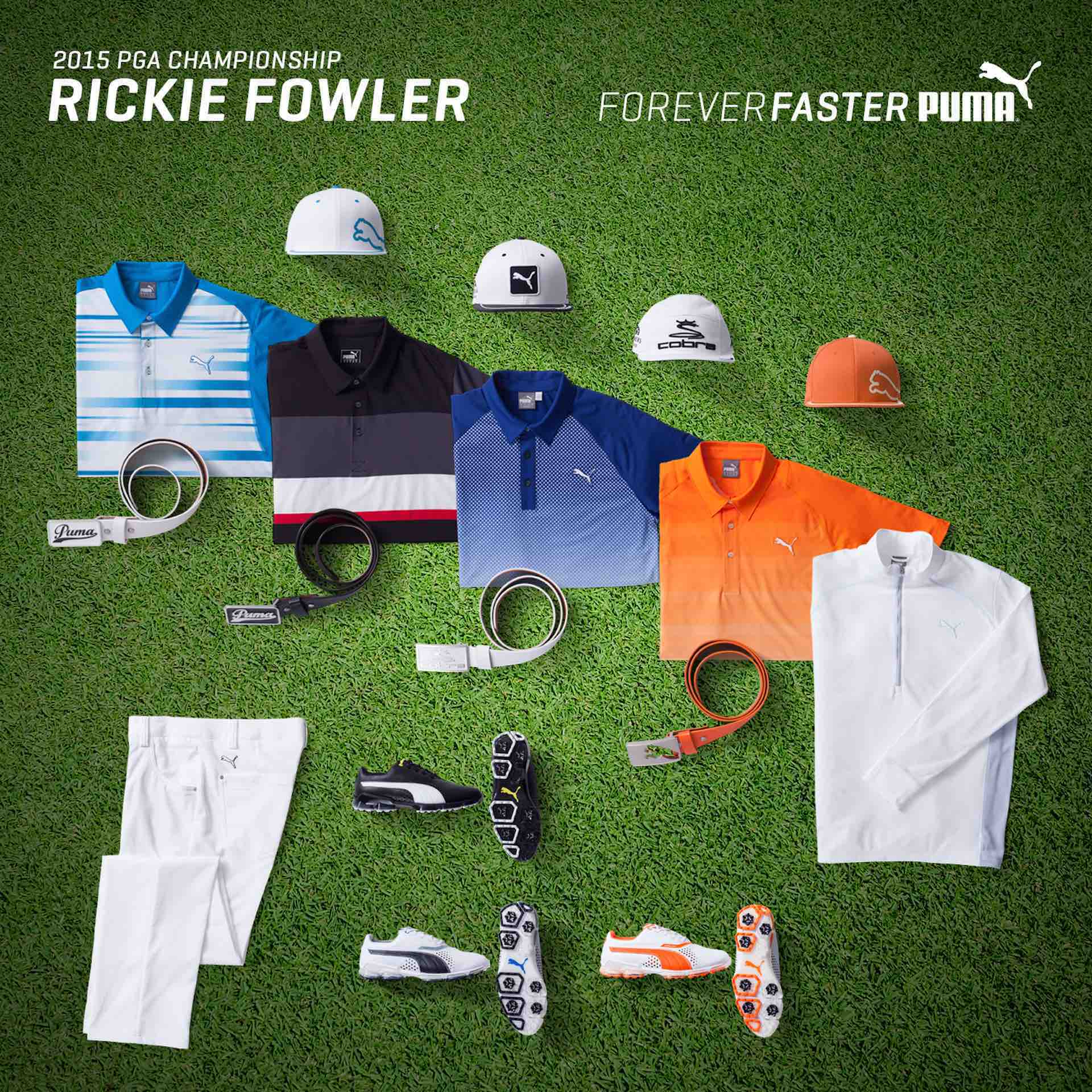 US PGA CHAMPIONSHIP FASHION SPECIAL: RICKIE FOWLER