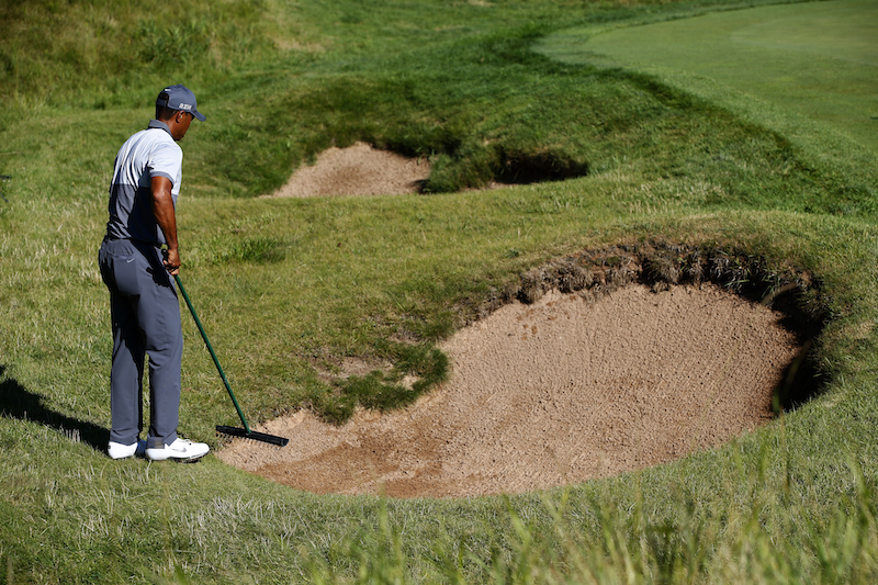 USPGA - Bunker rulings