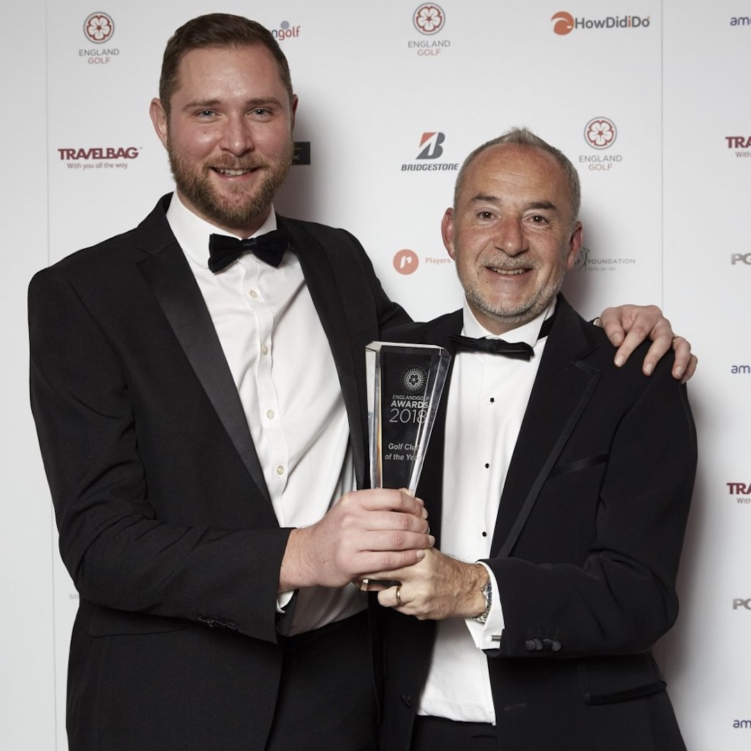 Leeds Golf Centre wins England Golf Club of the Year Award