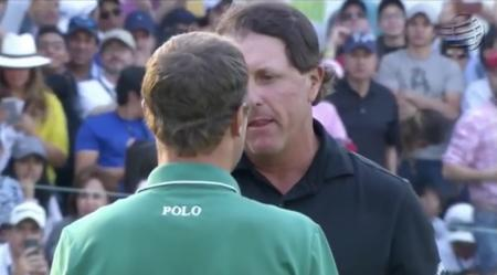 Boom. Phil Mickelson bounces back in Mexico