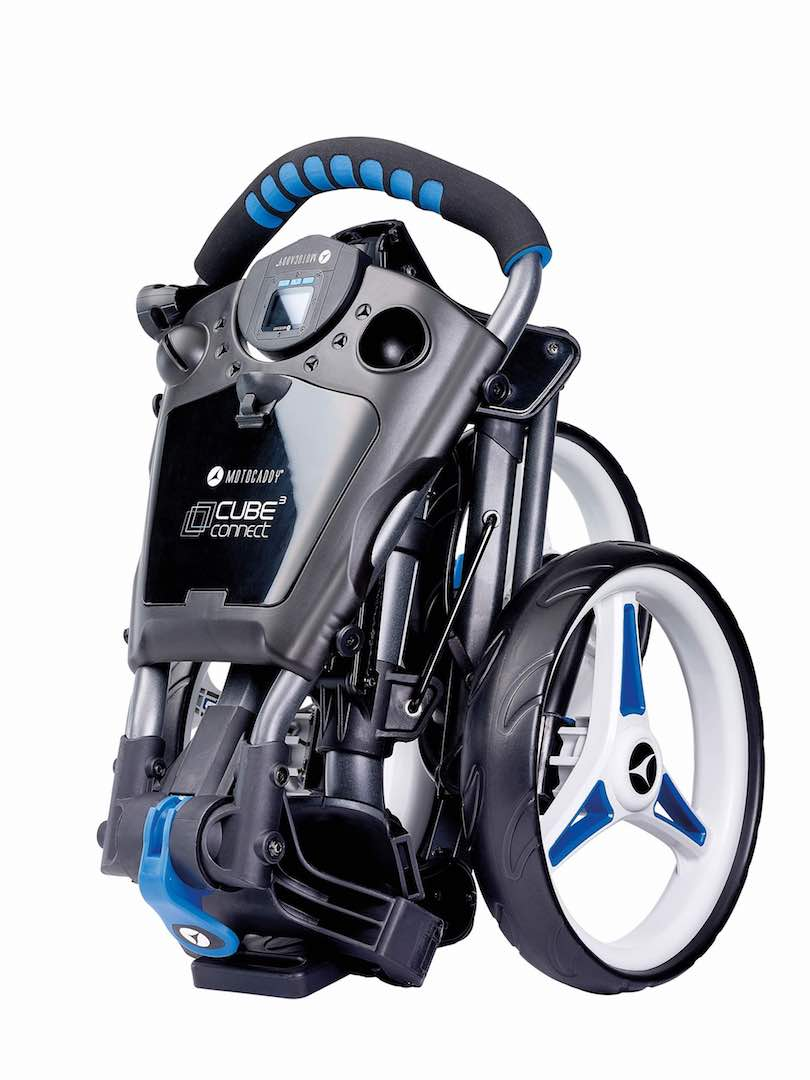 Motocaddy puts GPS into revolutionary new push trolley