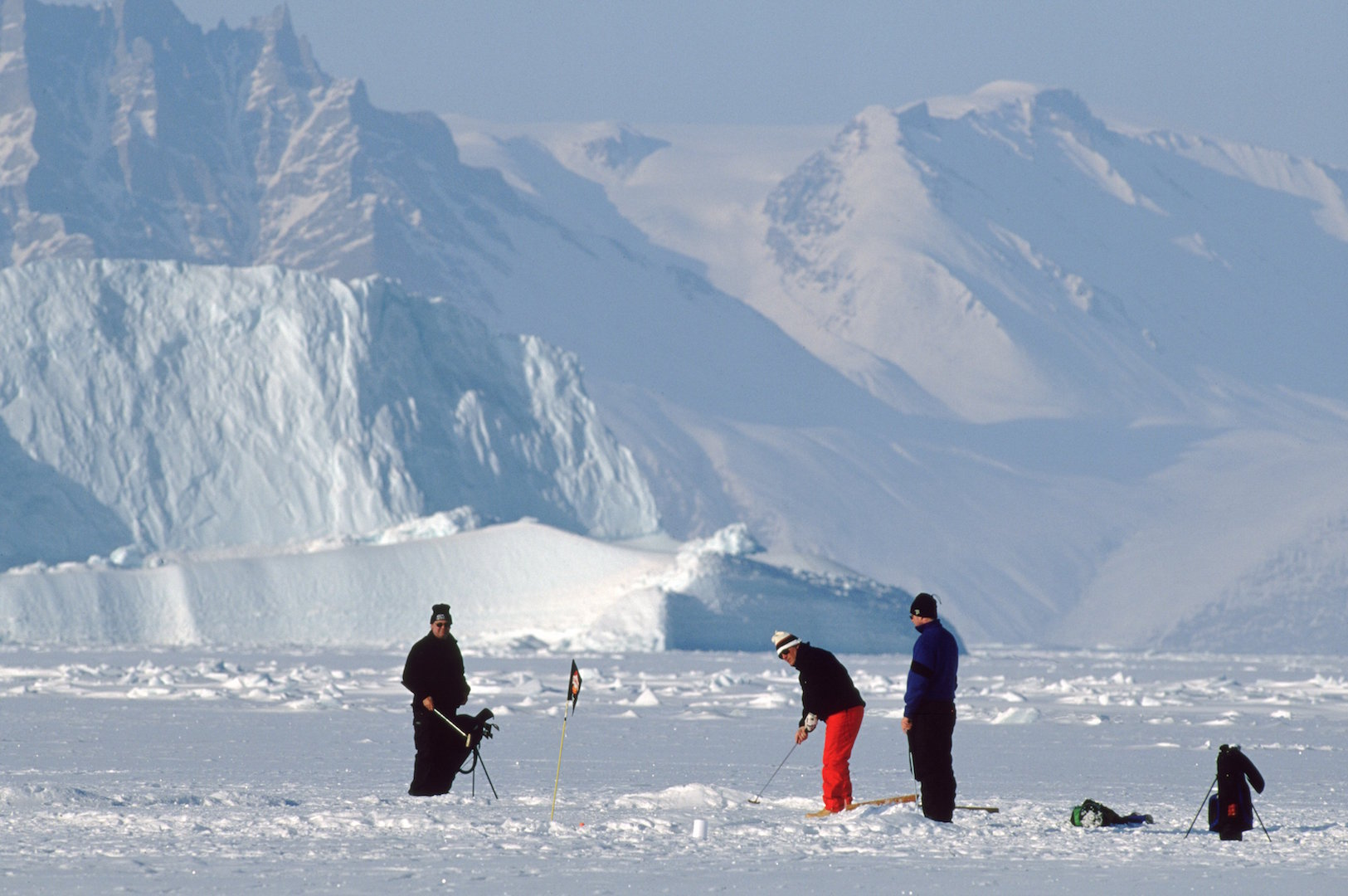Image result for Is this the world's coldest golf course?