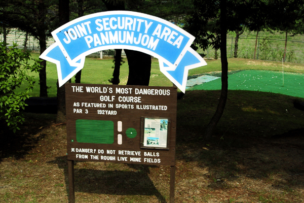 The 7 Craziest Golf Courses  In The World