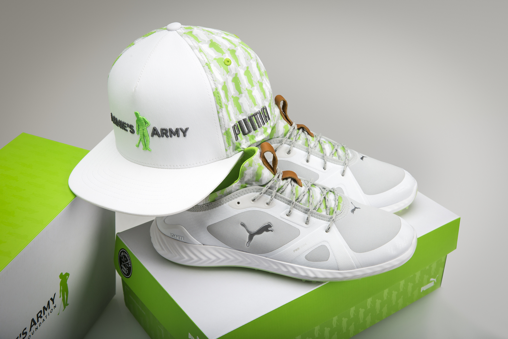 Rickie Fowler, Puma Golf and Arnie's Army Foundation partner