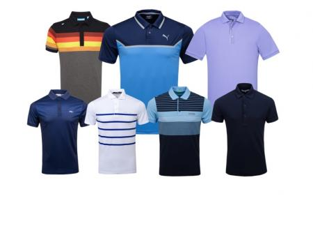 Revealed! Top 12 golf polo shirts for 2018