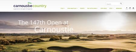 Carnoustie Country launches Legendary Campaign