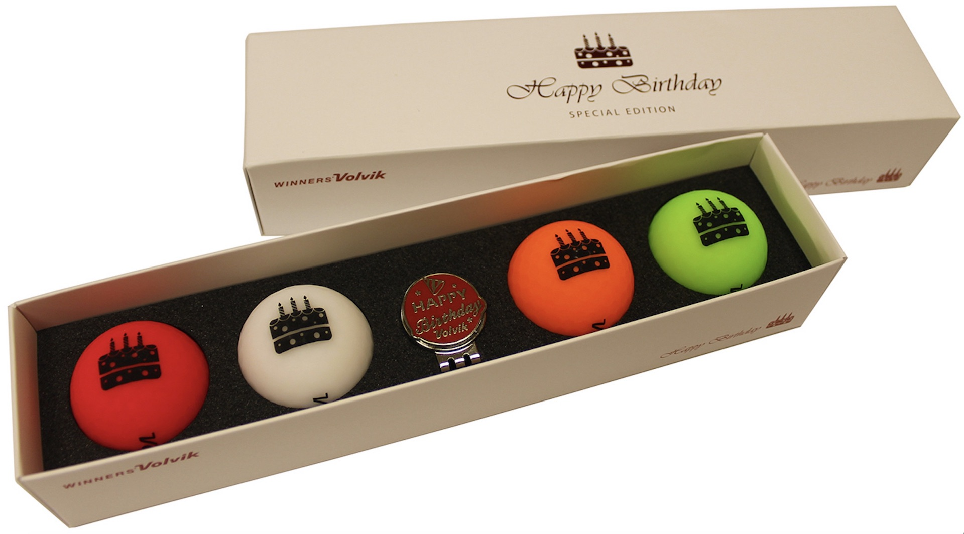 VOLVIK OFFER GIFT GOLF BALLS FOR EVERY OCCASION