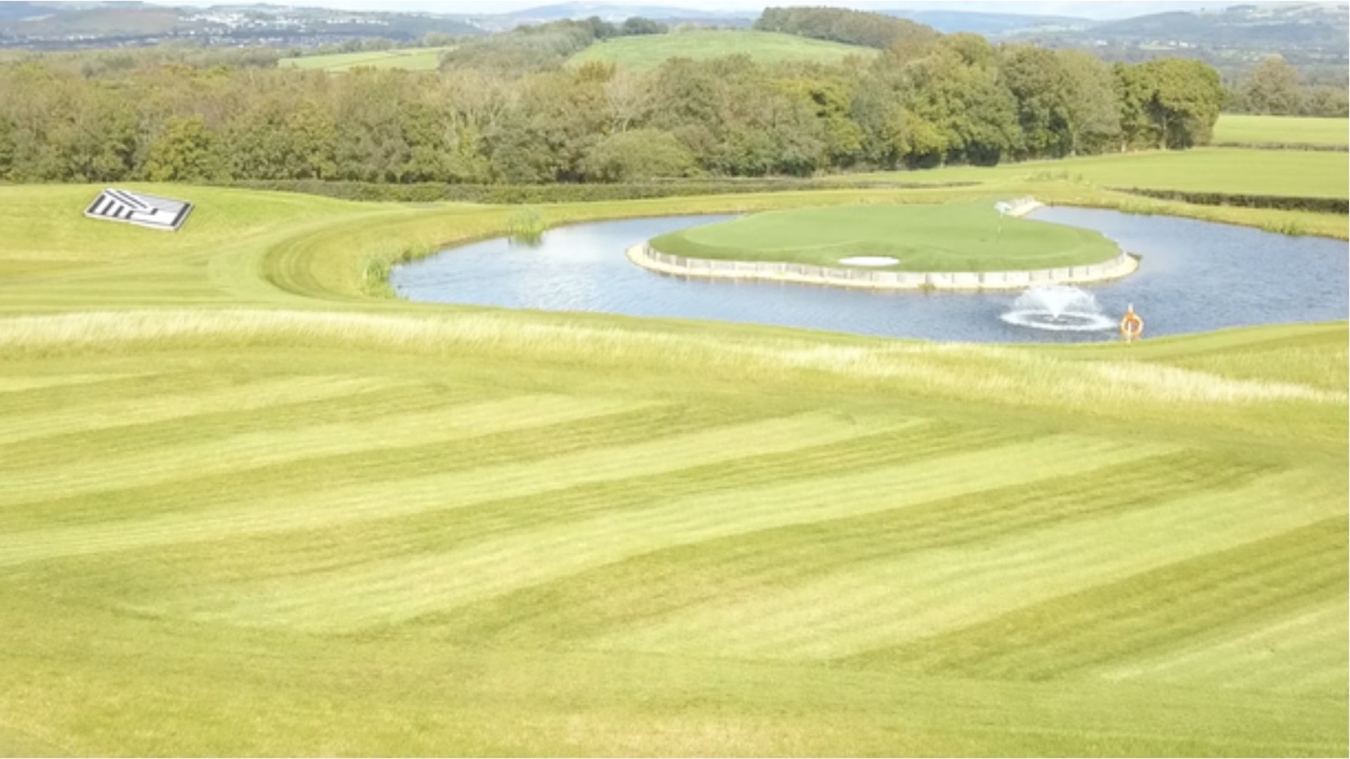 Gareth Bale's new personal golf course ready for action