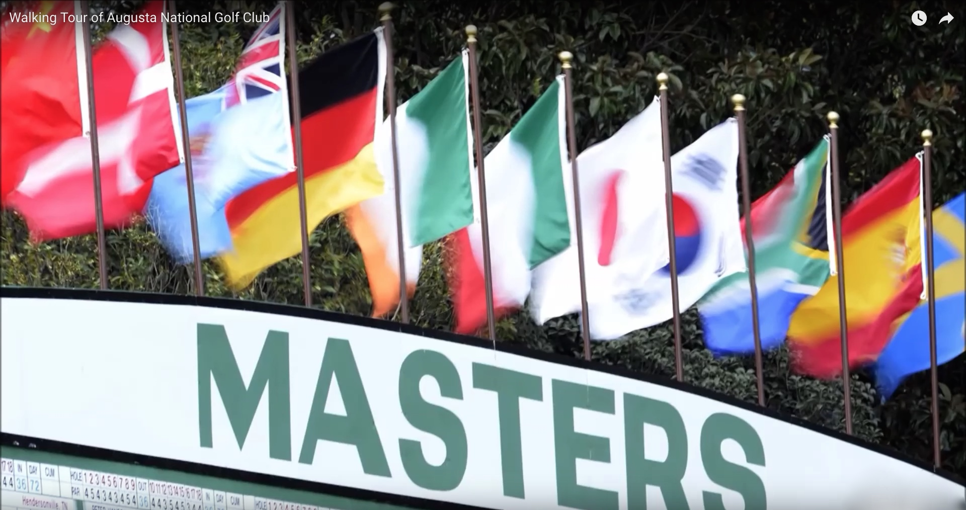Is this the most important Masters of all time?