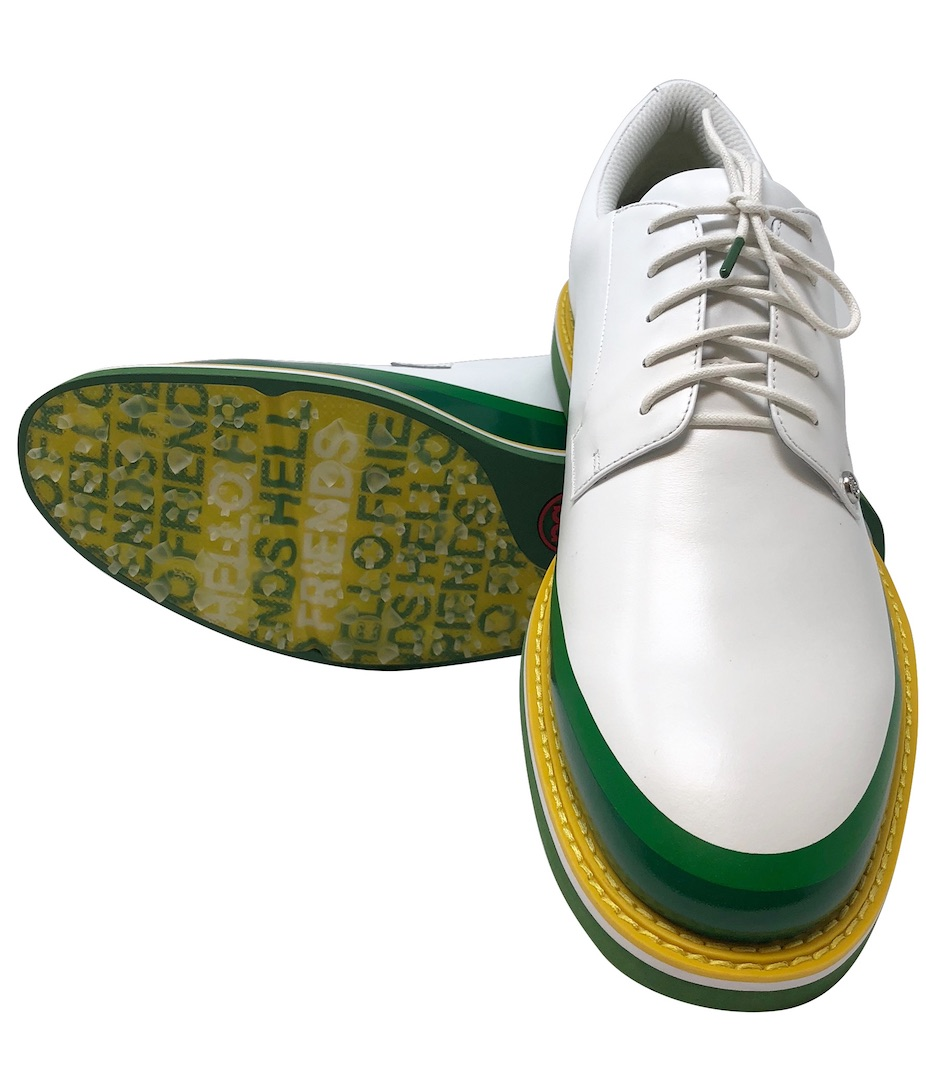 Phil Mickelson gets in on the new shoe action for the Masters