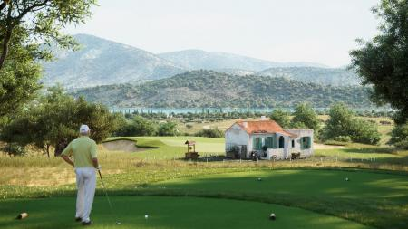 Costa Brava's little house on the fairway