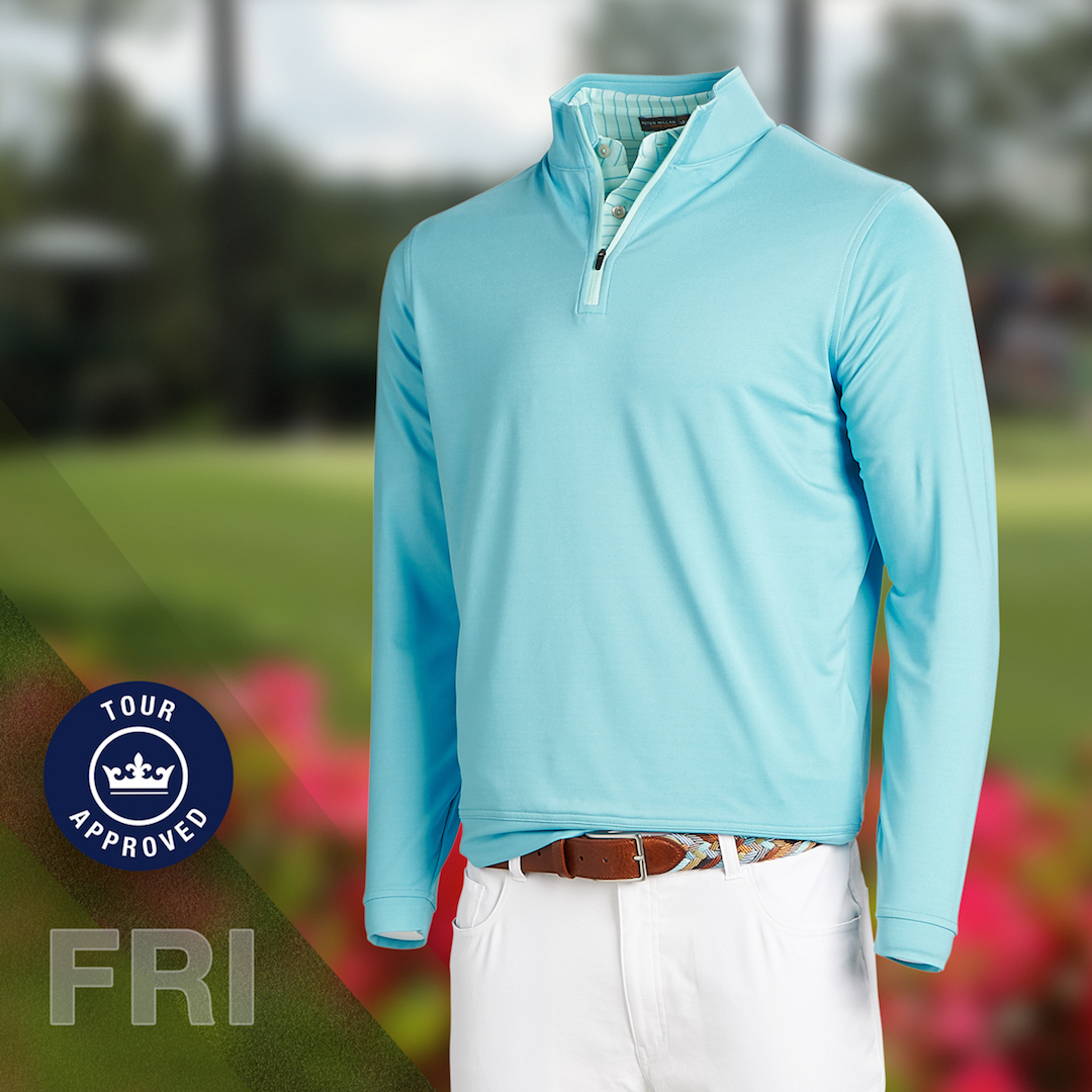 Peter Millar stars' scripting for the 2018 Masters