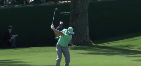 Nightmare for Sergio Garcia at the 2018 Masters