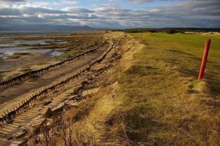 Royal Dornoch helps hold back the tide