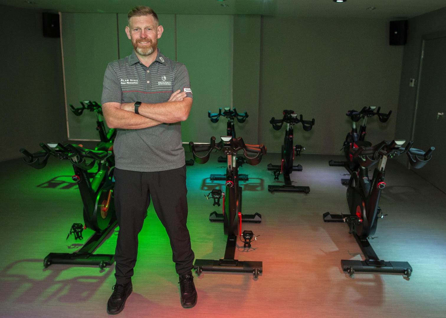 Stephen Gallacher tees up new leisure facilities