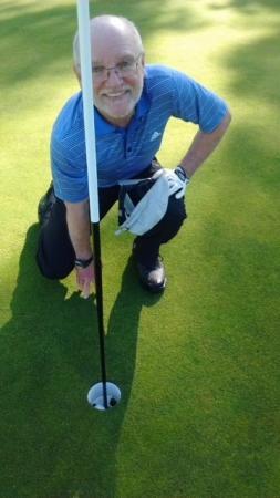Edinburgh Golfer Scott's timing is one in a million