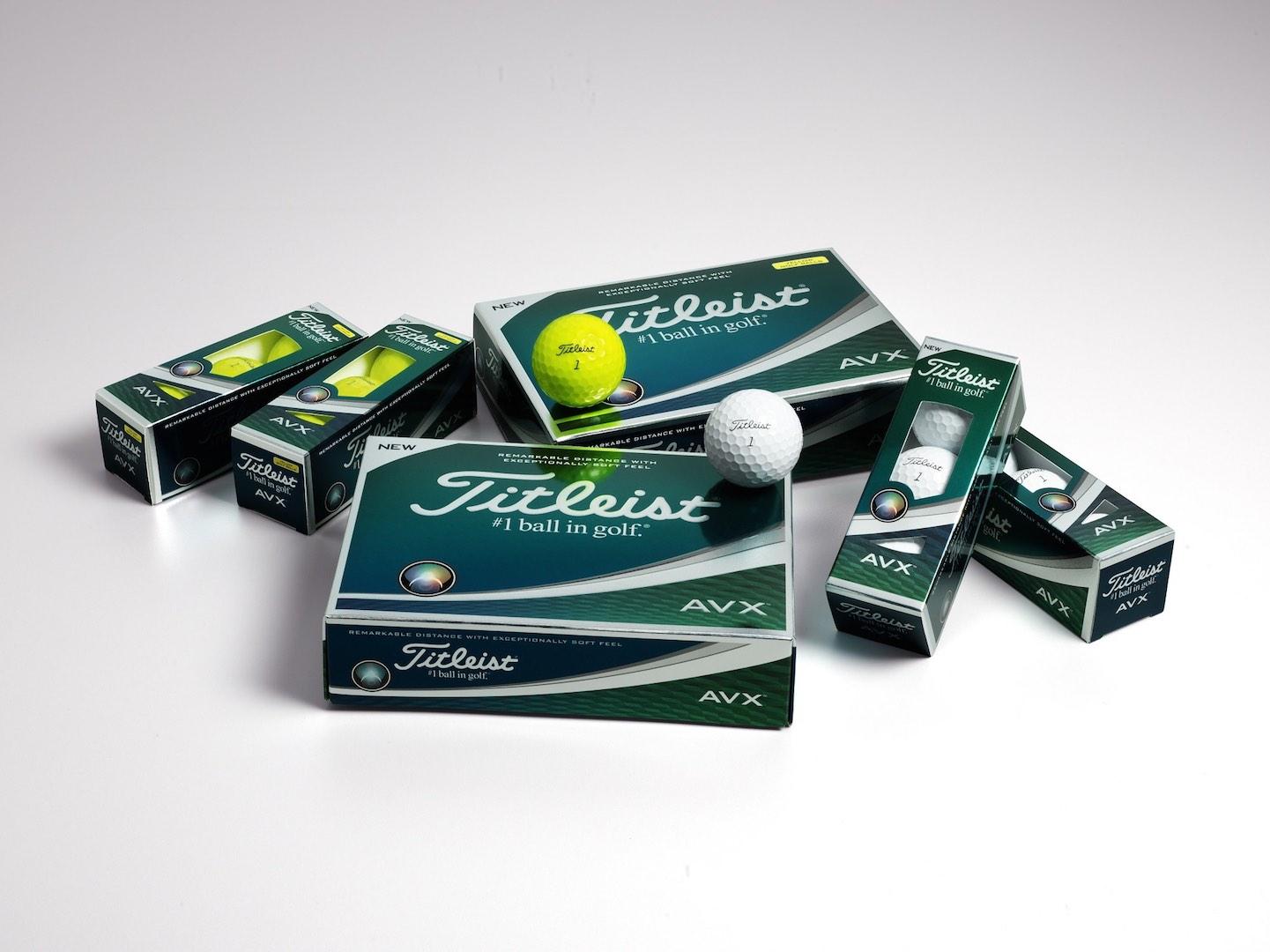 Titleist introduces all-new AVX golf balls
