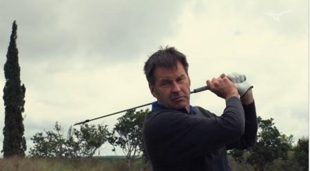 Custom iron fitting with Nick Faldo