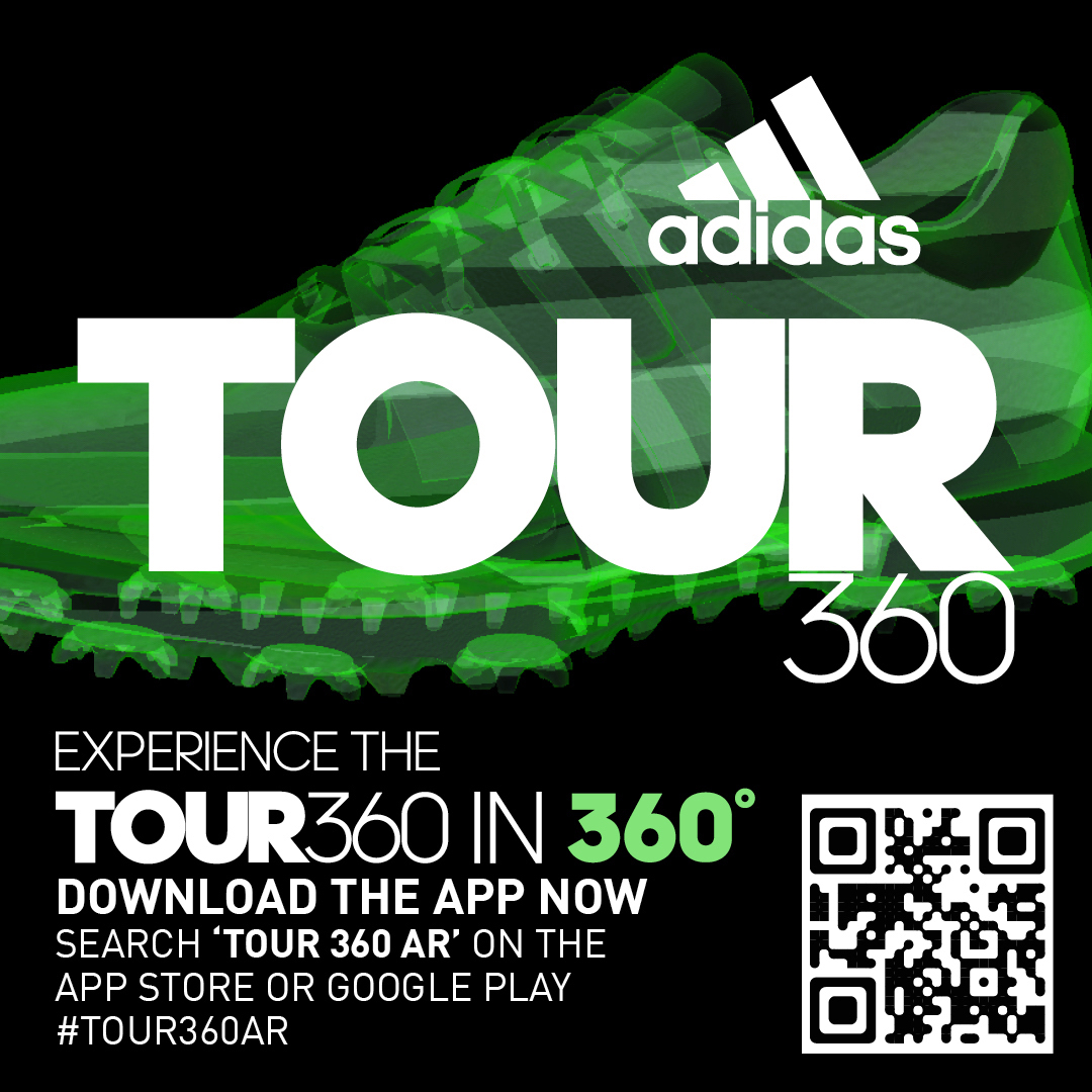 adidas Golf release the Tour 360 Augmented Reality (AR) app