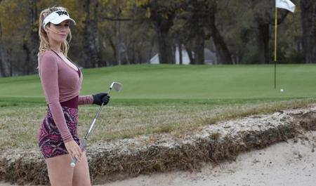 Win a round of golf with Paige Spiranac