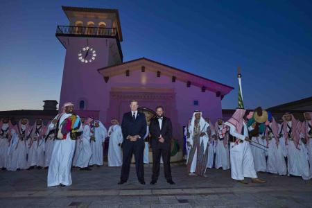 World Golfing Stars Lead Celebrations