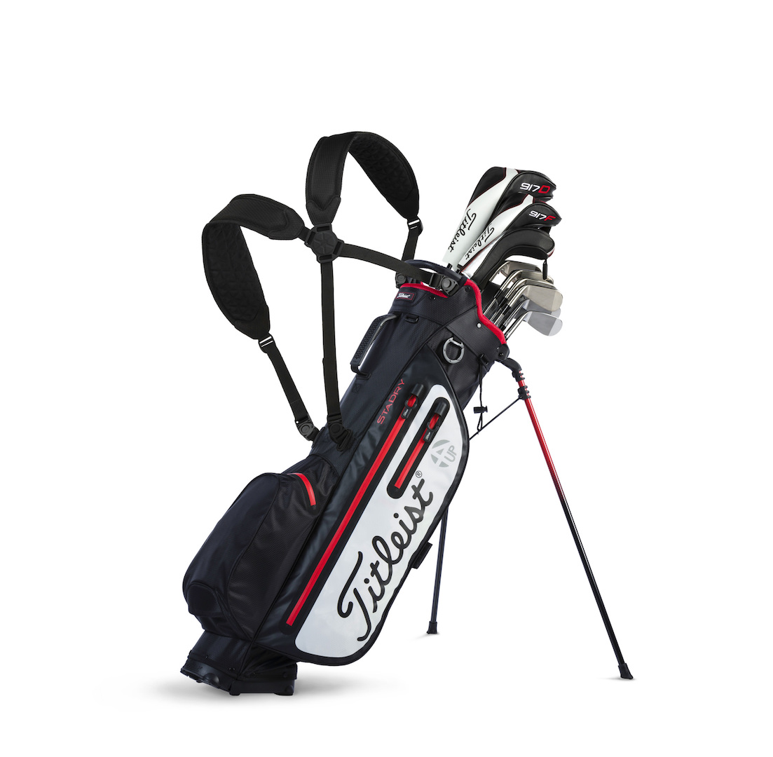 titleist introduces players 4up stadry stand bag golfpunkhq