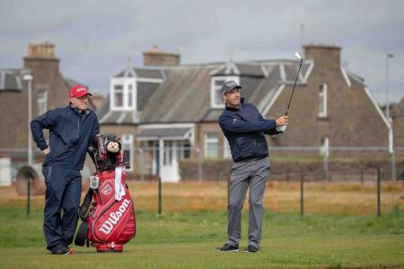 Padraig Harrington replays his Carnoustie playoff holes