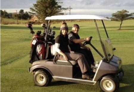 Woman member suspended from golf club