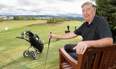 Scottish left handed golf competition