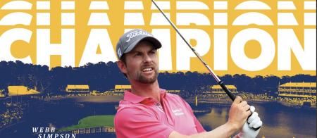 Webb Simpson wins the Players Championship by 4 shots