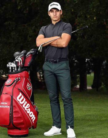 Joakim Lagergren claims first win with Wilson irons