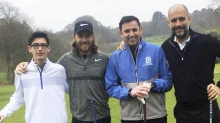 Pep Guardiola to tee it up alongside Tommy Fleetwood