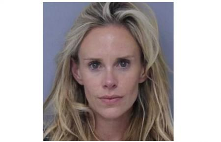 Lucas Glover's wife arrested after violence at home
