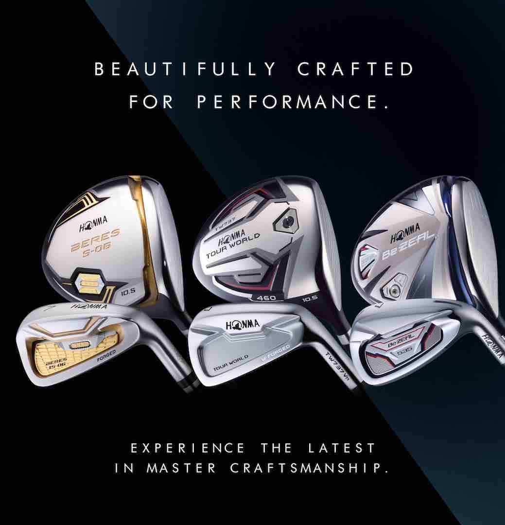 Honma clubs go on nationwide tour