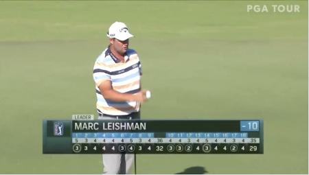 Marc Leishman shoots 10 under 61