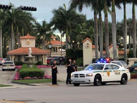 Shots fired at Trump's Doral golf resort